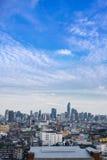 cityscape Bangkok skyline, Thailand. Bangkok is metropolis and f Royalty Free Stock Image