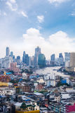 cityscape Bangkok skyline, Thailand. Bangkok is metropolis and f Stock Image