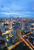 Cityscape, Bangkok Thailand Royalty Free Stock Photo
