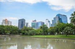 Cityscape of Bangkok  Thailand Royalty Free Stock Photo