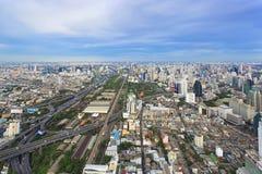 Cityscape of Bangkok, Thailand Stock Photo