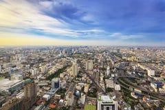 Cityscape of Bangkok, Thailand Royalty Free Stock Photos