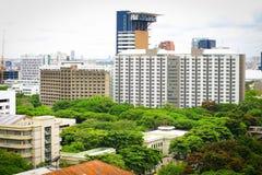 Cityscape of Bangkok Thailand Royalty Free Stock Photography