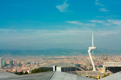 Cityscape of Barcelona Stock Image