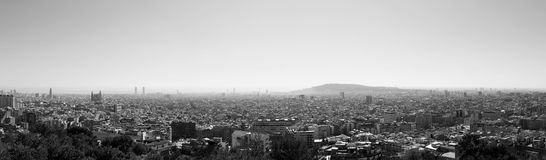 Cityscape, Barcelona Stock Photo