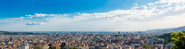 Cityscape of Barcelona. Spain. Royalty Free Stock Photography