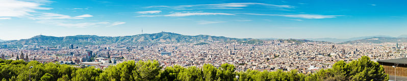 Cityscape of Barcelona. Spain. Stock Photography
