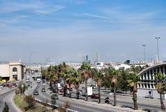 Cityscape of Barcelona Spain Royalty Free Stock Photography