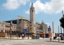 Cityscape of Barcelona Royalty Free Stock Photo