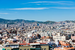 Cityscape of Barcelona. Spain. Stock Images