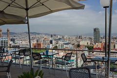 Cityscape Barcelona, SPAIN. Royalty Free Stock Photography