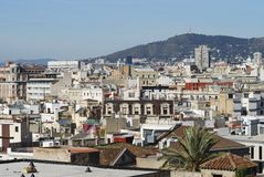 Cityscape of Barcelona. Spain Royalty Free Stock Photography