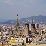 Cityscape of Barcelona Royalty Free Stock Photo