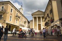 Cityscape, Bardolino, Italy Royalty Free Stock Images
