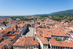 Cityscape from bassano del grappa Royalty Free Stock Photography