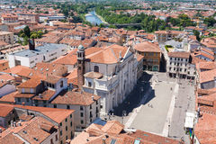 Cityscape from Bassano del Grappa Royalty Free Stock Image