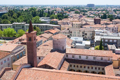Cityscape from Bassano del Grappa Stock Photo
