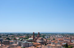 Cityscape from Bassano del Grappa Royalty Free Stock Photos