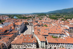 Cityscape from bassano del grappa Stock Photography