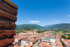 Cityscape from bassano del grappa Stock Images