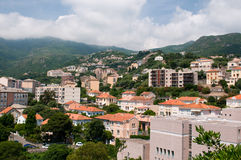 Cityscape of Bastia Royalty Free Stock Photos
