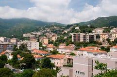 Cityscape of Bastia Royalty Free Stock Photos