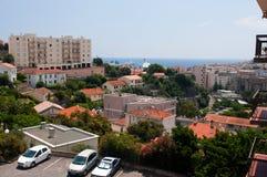 Cityscape of Bastia Stock Images
