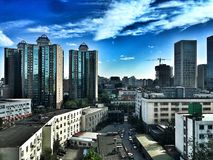 Cityscape of beijing Stock Images