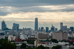 Cityscape of Beijing Royalty Free Stock Image