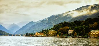 Bellagio from Lake Como, Italy Royalty Free Stock Photography