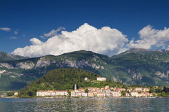 Cityscape of Bellagio Stock Photography