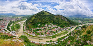 Cityscape of Berat - Albania Royalty Free Stock Image