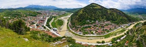 Cityscape of Berat - Albania Stock Photography
