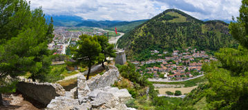 Cityscape of Berat - Albania Stock Photo