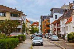 Cityscape of Bergen - Norway Stock Image