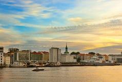 Cityscape of Bergen - Norway Stock Photos