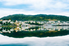 Cityscape of Bergen, Norway. Architecture Royalty Free Stock Photography