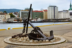 Cityscape of Bergen - Norway Royalty Free Stock Photography