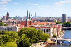 Cityscape of Berlin Stock Photography