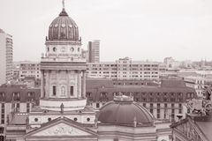 Cityscape of Berlin with Deutscher Dom Building Stock Images