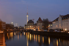 Cityscape of berlin Stock Photos