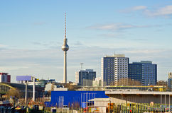 Cityscape in Berlin, Germany Royalty Free Stock Photography