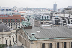 Cityscape of Berlin including Concert Hall Building Stock Photos
