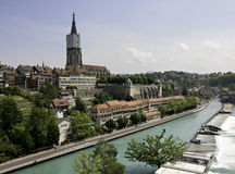 Cityscape of Bern Stock Photo
