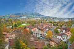 Cityscape of Bern Stock Photo