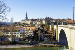 Cityscape of Bern Royalty Free Stock Photo