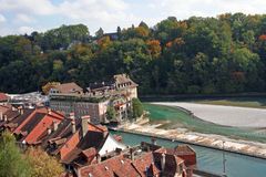 Cityscape of Bern Royalty Free Stock Photography