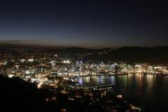 Cityscape bij nacht Stock Fotografie