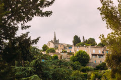 Cityscape of Bonnieux village in Provence, France Stock Photos
