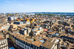 Cityscape of Bordeaux, France Royalty Free Stock Image